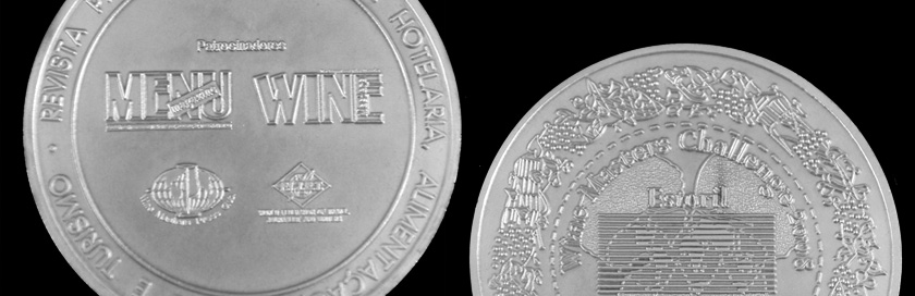 Medalha do concurso internacional Wine Masters Challenge